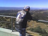 Lick Observatory looking at Silicon Valley